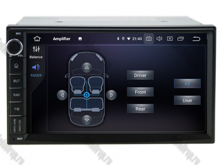Navigatie All-in-One, Android 10, Quadcore|PX30| / 2GB RAM + 16GB ROM, 7 Inch - AD-BGW2GB16ROM7P36