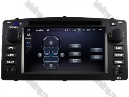 NAVIGATIE TOYOTA Corolla (2000-2007), ANDROID 9, Quadcore|PX30|/ 2GB RAM + 16GB ROM cu DVD, 7 Inch - AD-BGWCOROLLAP35
