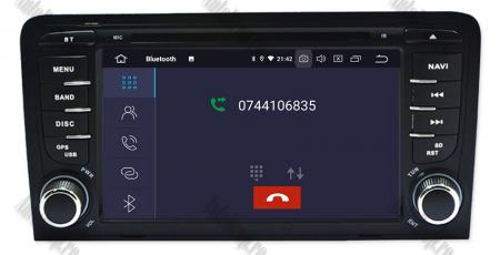 Navigatie Audi A3, Android 9, OCTACORE|PX5| / 4GB RAM cu 64GB ROM cu DVD , 7 Inch - AD-BGWAUDIA3P54