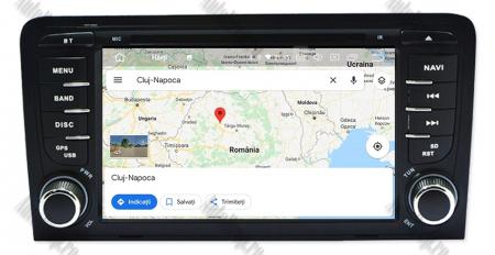 Navigatie Audi A3, Android 9, OCTACORE|PX5| / 4GB RAM cu 64GB ROM cu DVD , 7 Inch - AD-BGWAUDIA3P514