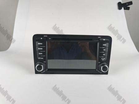 Navigatie Audi A3, Android 9, OCTACORE|PX5| / 4GB RAM cu 64GB ROM cu DVD , 7 Inch - AD-BGWAUDIA3P519
