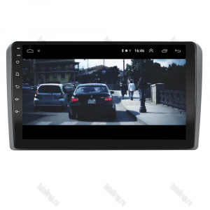 Navigatie Audi A3/ S3/ RS3, Android 9.1, QUADCORE|MTK| / 1GB RAM + 16 ROM, 9 Inch - AD-BGPAUDIA31GB12