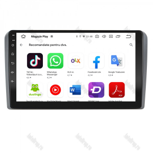 Navigatie Audi A3/ S3/ RS3, Android 9.1, QUADCORE|MTK| / 1GB RAM + 16 ROM, 9 Inch - AD-BGPAUDIA31GB8