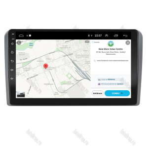 Navigatie Audi A3/ S3/ RS3, Android 9.1, QUADCORE|MTK| / 2GB RAM + 32 ROM, 9 Inch - AD-BGPAUDIA32GB10