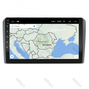 Navigatie Audi A3/ S3/ RS3, Android 9.1, QUADCORE|MTK| / 1GB RAM + 16 ROM, 9 Inch - AD-BGPAUDIA31GB7
