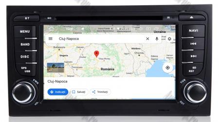 Navigatie Audi A4 (B6, B7), Android 10, Octacore|PX5| / 4GB RAM + 64GB ROM cu DVD, 7 Inch - AD-BGWAUDIA4P511