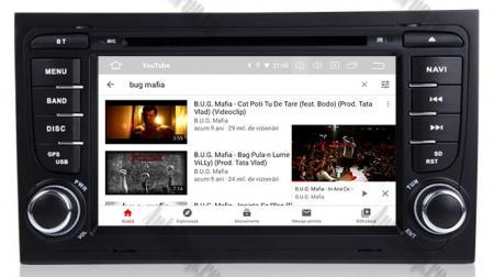 Navigatie Audi A4 (B6, B7), Android 10, Octacore|PX5| / 4GB RAM + 64GB ROM cu DVD, 7 Inch - AD-BGWAUDIA4P510