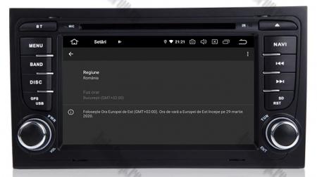 Navigatie Audi A4 (B6, B7), Android 10, Octacore|PX5| / 4GB RAM + 64GB ROM cu DVD, 7 Inch - AD-BGWAUDIA4P514