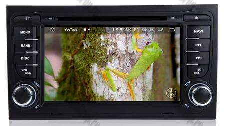 Navigatie Audi A4 (B6, B7), Android 10, Octacore|PX5| / 4GB RAM + 64GB ROM cu DVD, 7 Inch - AD-BGWAUDIA4P515