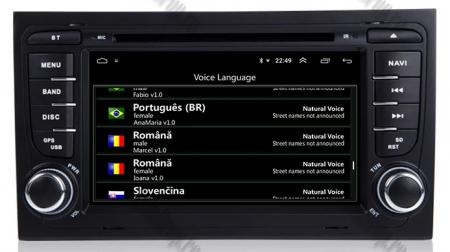 Navigatie Audi A4 (B6, B7), Android 10, Octacore|PX5| / 4GB RAM + 64GB ROM cu DVD, 7 Inch - AD-BGWAUDIA4P58