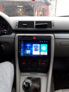 Navigatie Audi A4(B6/B7) / Seat Exeo, Android 9.1, QUADCORE|MTK| / 1GB RAM + 16 ROM, 9 Inch - AD-BGPAUDIA41GB19