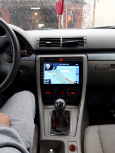 Navigatie Audi A4(B6/B7) / Seat Exeo, Android 9.1, QUADCORE|MTK| / 1GB RAM + 16 ROM, 9 Inch - AD-BGPAUDIA41GB18
