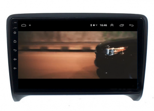 Navigatie Audi TT, Android 9.1, QUADCORE|MTK| / 1GB RAM + 16 ROM, 9 Inch - AD-BGPAUDITTMTK14