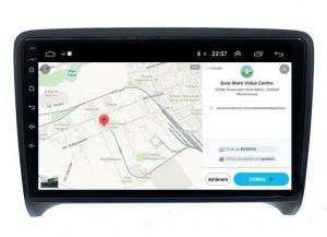 Navigatie Audi TT, Android 9.1, QUADCORE|MTK| / 1GB RAM + 16 ROM, 9 Inch - AD-BGPAUDITTMTK12