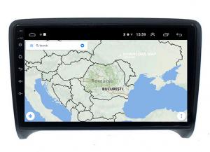Navigatie Audi TT, Android 9.1, QUADCORE|MTK| / 1GB RAM + 16 ROM, 9 Inch - AD-BGPAUDITTMTK13