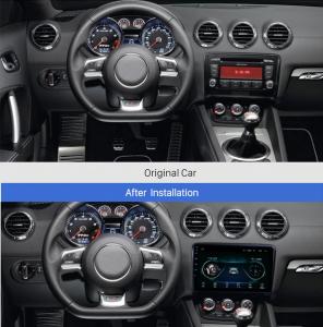 Navigatie Audi TT, Android 9.1, QUADCORE|MTK| / 1GB RAM + 16 ROM, 9 Inch - AD-BGPAUDITTMTK15