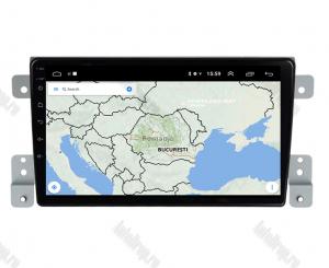 Navigatie Suzuki Grand Vitara 2005-2015, Android 9.1, QUADCORE|MTK| / 1GB RAM + 16 ROM, 9 Inch - AD-BGPVITARA9MTK1GB7