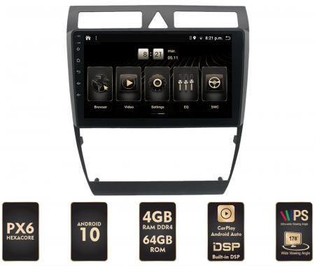 Navigatie Android Audi A6 PX6 | AutoDrop.ro [0]