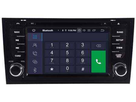 "Navigatie Audi A6, Android 9, QUADCORE / 2GB RAM cu DVD, 6.2"" Inch - AD-BGWAUDIA67P31"