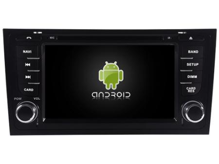 "Navigatie Audi A6, Android 9, QUADCORE / 2GB RAM cu DVD, 6.2"" Inch - AD-BGWAUDIA67P34"