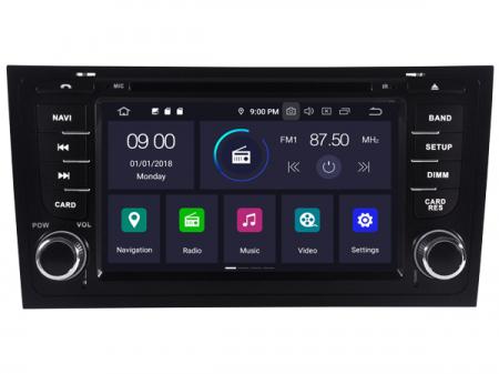 "Navigatie Audi A6, Android 9, QUADCORE / 2GB RAM cu DVD, 6.2"" Inch - AD-BGWAUDIA67P30"