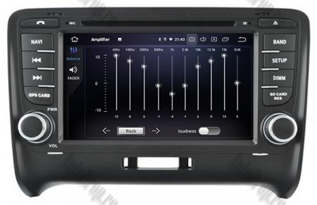 NAVIGATIE AUDI TT (2006-2012), ANDROID 9, Quadcore|PX30| / 2GB RAM + 16GB ROM CU DVD, 7 INCH - AD-BGWAUDITTP37