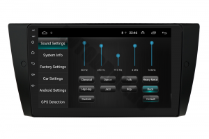 Navigatie BMW Seria 3 E90, E91, E92, QUADCORE|MTK| / 1GB RAM + 16 ROM, 9 Inch - AD-BGPE9X9MTK5