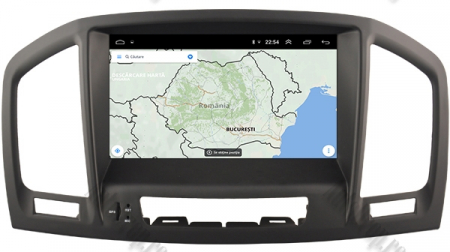 Navigatie Opel Insignia 2008-2011, Android 9, Octacore|PX5|/ 4GB RAM si 64GB ROM cu DVD, 8 Inch - AD-BGWOPLINSGP511