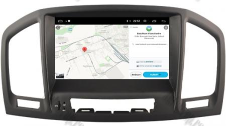 Navigatie Opel Insignia 2008-2011, Android 9, Octacore|PX5|/ 4GB RAM si 64GB ROM cu DVD, 8 Inch - AD-BGWOPLINSGP512