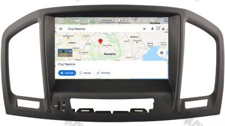 Navigatie Opel Insignia 2008-2011, Android 9, Octacore|PX5|/ 4GB RAM si 64GB ROM cu DVD, 8 Inch - AD-BGWOPLINSGP513