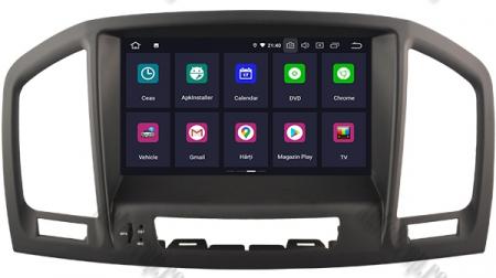 Navigatie Opel Insignia 2008-2011, Android 9, Octacore|PX5|/ 4GB RAM si 64GB ROM cu DVD, 8 Inch - AD-BGWOPLINSGP51