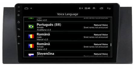 Navigatie BMW E39/E53, Android 10, Octacore|PX5|/ 4GB RAM + 64GB ROM, 9 Inch - AD-BGWBMWE399P59