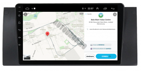 Navigatie BMW E39/E53, Android 10, Octacore|PX5|/ 4GB RAM + 64GB ROM, 9 Inch - AD-BGWBMWE399P511