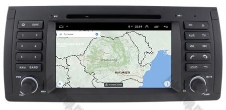 Navigatie BMW E39/E53, Android 9, QUADCORE|PX30|/ 2GB RAM + 16GB ROM, 7 Inch - AD-BGWBMWE397P314