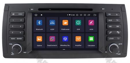 Navigatie BMW E39/E53, Android 9, QUADCORE|PX30|/ 2GB RAM + 16GB ROM, 7 Inch - AD-BGWBMWE397P32