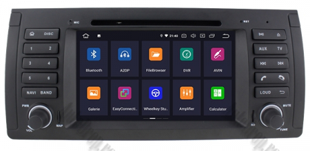 Navigatie BMW E39/E53, Android 9, Octacore|PX5|/ 4GB RAM + 64GB ROM, 7 Inch - AD-BGWBMWE397P52