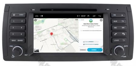 Navigatie BMW E39/E53, Android 10, Octacore|PX5|/ 4GB RAM + 64GB ROM, 7 Inch - AD-BGWBMWE397P515