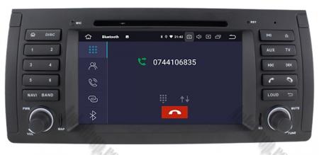 Navigatie BMW E39/E53, Android 9, QUADCORE|PX30|/ 2GB RAM + 16GB ROM, 7 Inch - AD-BGWBMWE397P34