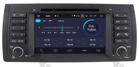 Navigatie BMW E39/E53, Android 10, Octacore|PX5|/ 4GB RAM + 64GB ROM, 7 Inch - AD-BGWBMWE397P53