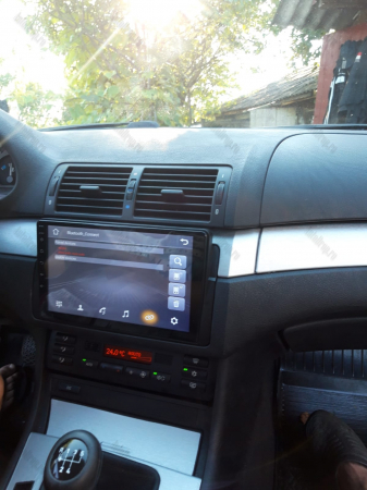 Navigatie BMW E46, Android 9.1, QUADCORE|MTK| / 1GB RAM + 16 ROM, 9 Inch -AD-BGPBMWE469L17