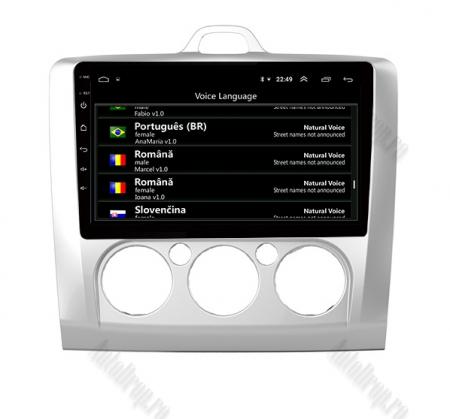 Navigatie Ford Focus MK2 2004-2011 Clima Manuala, Android 9.1, QUADCORE|MTK| / 1GB RAM + 16 ROM, 9 Inch - AD-BGPFORDFMAC1GB6