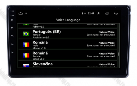 Navigatie Audi A4(B6/B7) / Seat Exeo, Android 9.1, QUADCORE|MTK| / 1GB RAM + 16 ROM, 9 Inch - AD-BGPAUDIA41GB7