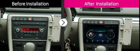 Navigatie Audi A4(B6/B7) / Seat Exeo, Android 8.1, QUADCORE|MTK| / 1GB RAM + 16 ROM, 9 Inch - AD-BGPAUDIA41GB16