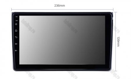 Navigatie Audi A4(B6/B7) / Seat Exeo, Android 8.1, QUADCORE|MTK| / 1GB RAM + 16 ROM, 9 Inch - AD-BGPAUDIA41GB15