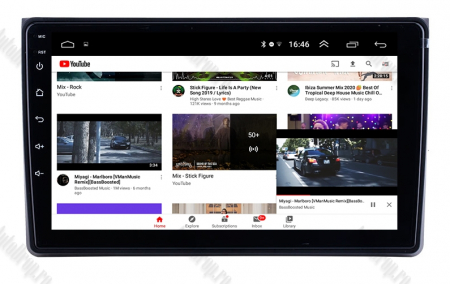 Navigatie Audi A4(B6/B7) / Seat Exeo, Android 9.1, QUADCORE|MTK| / 1GB RAM + 16 ROM, 9 Inch - AD-BGPAUDIA41GB8