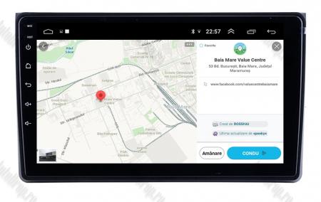 Navigatie Audi A4(B6/B7) / Seat Exeo, Android 8.1, QUADCORE|MTK| / 1GB RAM + 16 ROM, 9 Inch - AD-BGPAUDIA41GB11