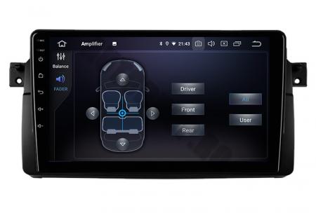 Navigatie BMW E46/M3, Android 10, QUADCORE PX30 / 2GB RAM + 16GB ROM, 9 Inch - AD-BGWBMWE469P35