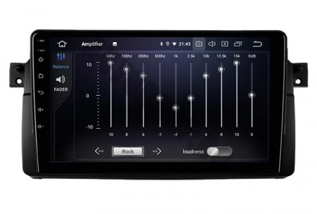 Navigatie BMW E46/M3, Android 10, QUADCORE PX30 / 2GB RAM + 16GB ROM, 9 Inch - AD-BGWBMWE469P34