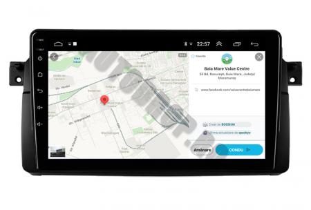 Navigatie BMW E46/M3, Android 10, QUADCORE PX30 / 2GB RAM + 16GB ROM, 9 Inch - AD-BGWBMWE469P310