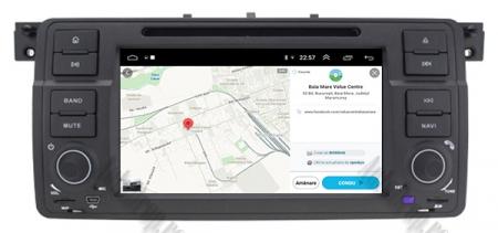 Navigatie BMW E46/M3, Android 10, Quadcore|PX30|/ 2GB RAM + 16GB ROM cu DVD, 7 Inch - AD-BGWBMWE467P312